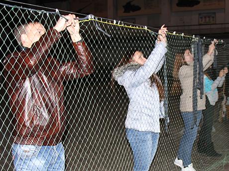 Захист для військових руками студентів