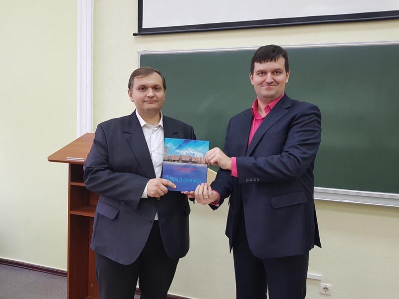 Зустріч студентів кафедри МЕВ із представником KIA Motors Україна