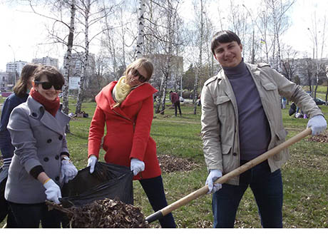 УАБС НБУ: робимо наше місто чистим!