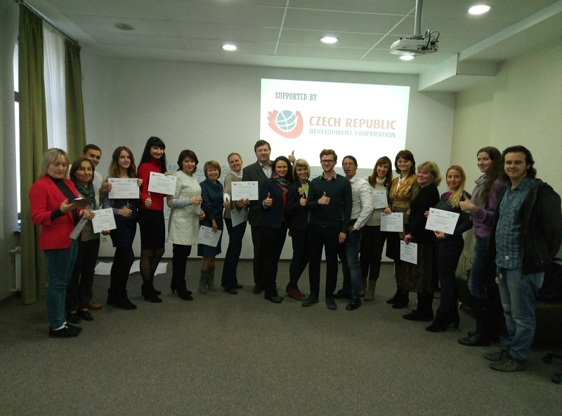 Успішно завершився другий етап спільного проекту СНАУ - Чеського УПН