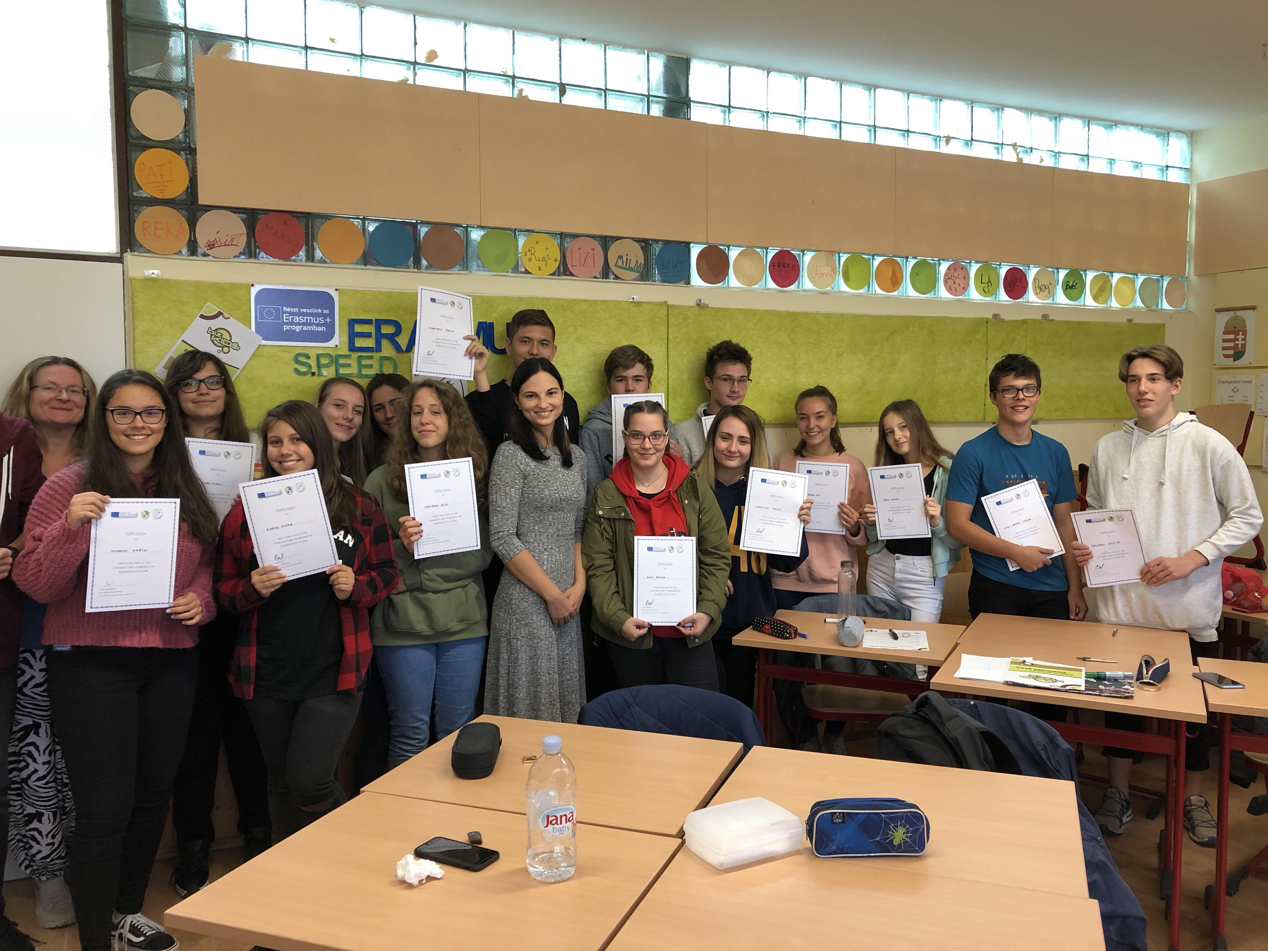 Організація та проведенні воркшопів в Угорщині у рамках проекту Erasmus +