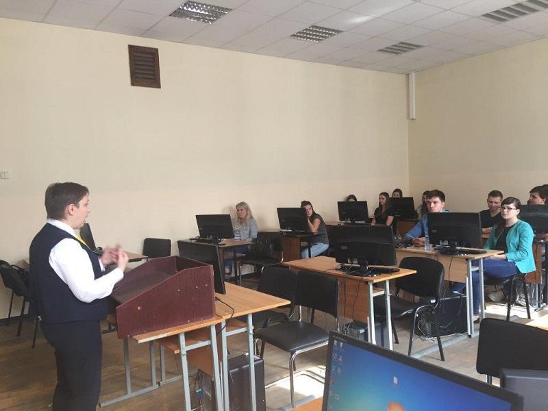 Зустріч студентів з представниками Райффайзен Банку Аваль