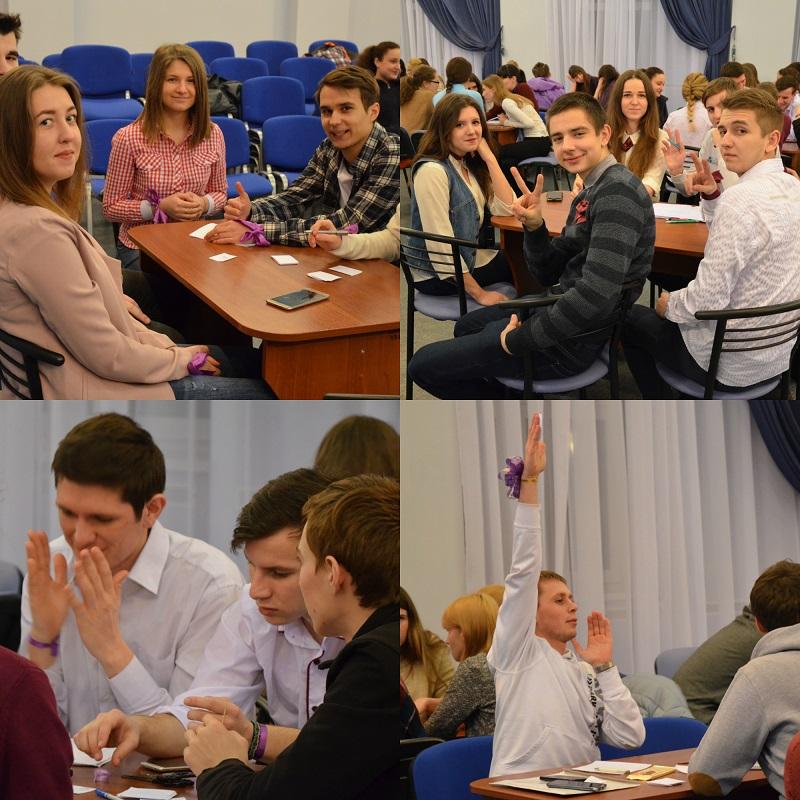 Змагання з інтелектуальної гри  «ЩО?ДЕ? КОЛИ?»  між студентськими командами гуртожитків студмістечка СумДУ.
