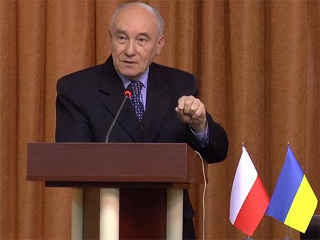 Лекція проф. Йозефа Хабера (09.12.2014)