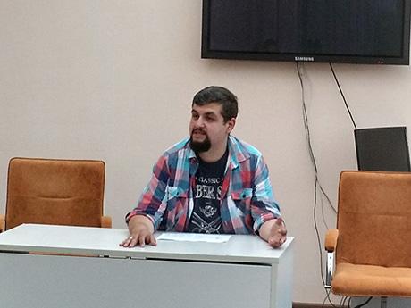 24 травня 2018 року відбулася зустріч HR-менеджера компанії CPCS Євгена Дмитрієва зі студентами спеціальності «Економічна кібернетика»