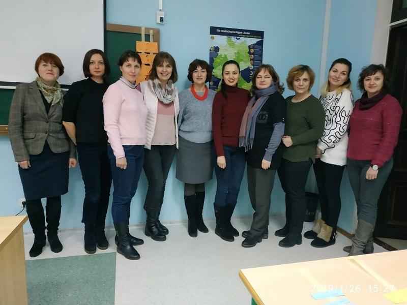 Гете-Інститут підвищує кваліфікацію викладачів створеного при кафедрі іноземних мов «Німецького Центру СумДУ»