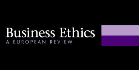 Cooperation of the Academy's researchers with the international scientific journal Business Ethics: A European Review