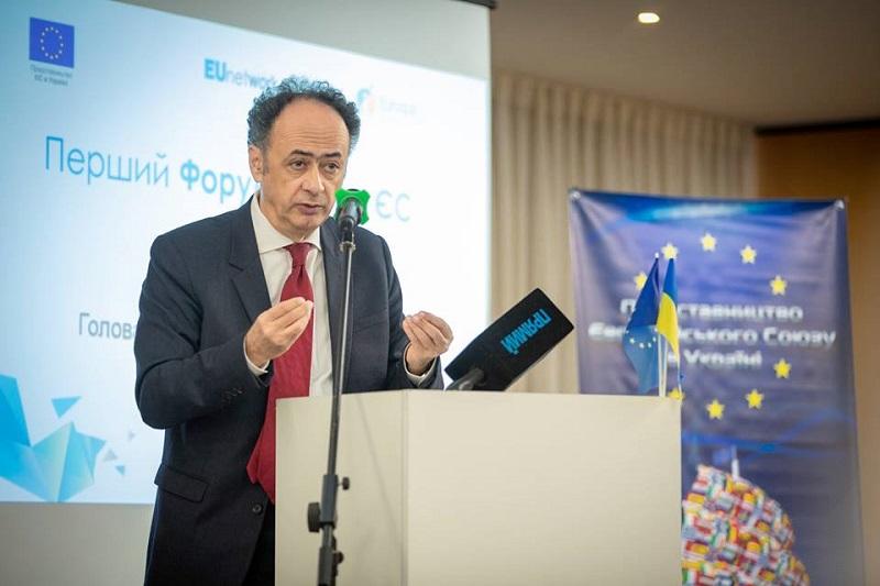 Участь завідувача кафедри МЕВ в Першому Форумі мереж ЄС