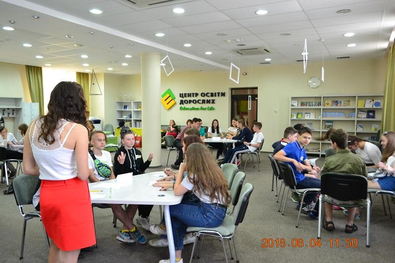 Реалізація грантового проекту «Літній інтенсив з розвитку навичок ефективного підлітка» / «Майстерня навичок»