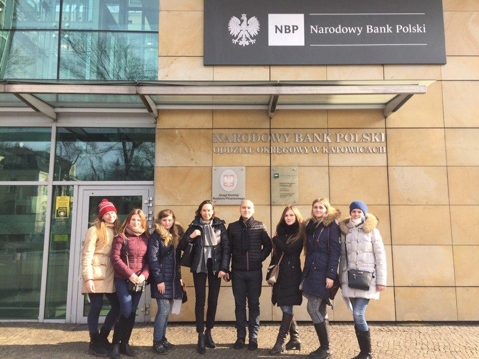 Виробнича практика студентів УАБС у Польщі
