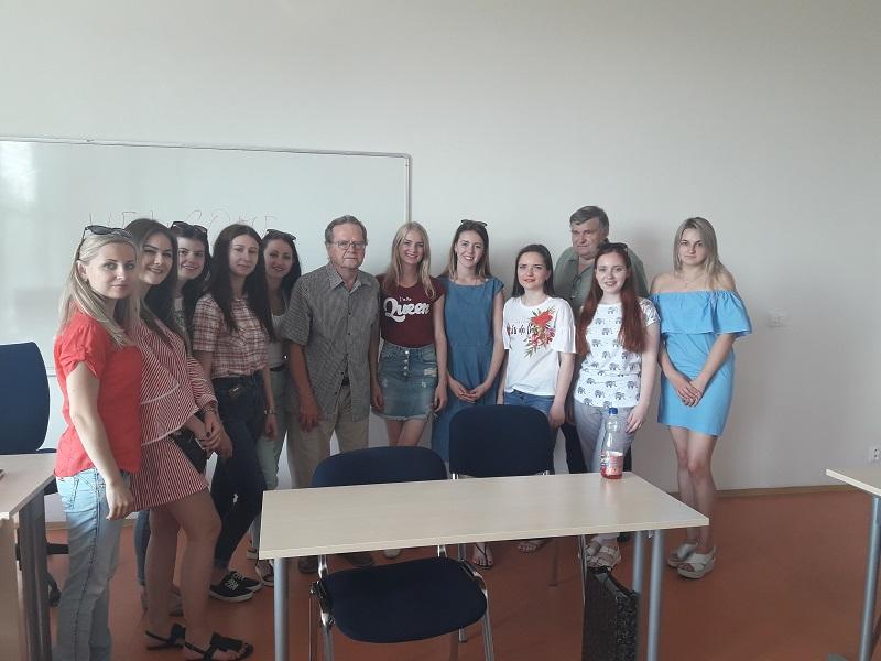 Міжнародне стажування викладачів та студентів ННІ БТ «УАБС» в Чехії